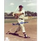 "Mickey Vernon Autographed Washington Senators 8"" x 10"" Photograph (Unframed)"
