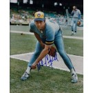 """Mike Caldwell Autographed Milwaukee Brewers 8"""" x 10"""" Photograph (Unframed)"""