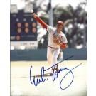 """Mike Torrez Autographed St. Louis Cardinals 8"""" x 10"""" Photograph (Unframed)"""