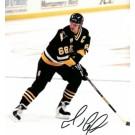 "Mario Lemieux ""Action"" Autographed Pittsburgh Penguins 8"" x 10"" Action... by"
