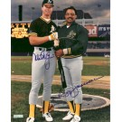 "Mark McGwire and Reggie Jackson Autographed 8"" x 10"" Photograph (Unframed) by"
