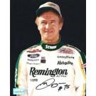 "Morgan Shepherd Autographed Racing 8"" x 10"" Photograph (Unframed)"