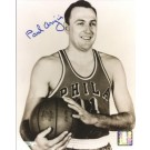 "Paul Arizin Autographed Philadelphia 76ers 8"" x 10"" Photograph (Unframed)"