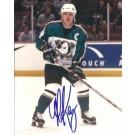 "Paul Kariya Autographed Anaheim Ducks 8"" x 10"" Photograph (Unframed)"