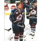 "Peter Forsberg Autographed Colorado Avalanche 8"" x 10"" Photograph (Unframed) by"