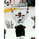 "Ray Bourque ""With Stanley Cup"" Autographed Colorado Avalanche 8"" x 10"" Photograph Hall of Famer (Unframed)"