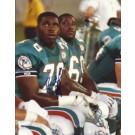 "Richmond Webb Autographed Miami Dolphins 8"" x 10"" Photograph (Unframed)"