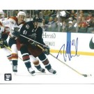 "Rick Nash Autographed Columbus Blue Jackets 8"" x 10"" Photograph (Unframed) by"