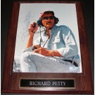 """Richard Petty """"Sitting"""" Autographed Racing 8"""" x 10"""" Photograph on a... by"""