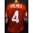 Santonio Holmes Autographed Red Custom Jersey Ohio State Buckeyes and Pittsburgh Steelers... by