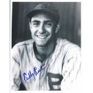 "Sibby Sisti Autographed Boston Braves 8"" x 10"" Photograph (Deceased) (Unframed)"