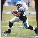 """Steve Smith """"With Ball"""" Autographed Carolina Panthers Action 16"""" x 20"""" Photograph Steve Smith Authenticity (Unframed)"""