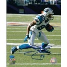"""Steve Smith """"Running"""" Autographed Carolina Panthers Action 8"""" x 10"""" Photograph Steve Smith Authenticity (Unframed)"""