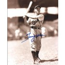 "Tommy Holmes Autographed Boston Braves 8"" x 10"" Photograph (Deceased) (Unframed)"