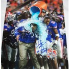 "Urban Meyer Autographed ""National Championship Gatorade"" 16"" x 20"" Photograph with ""06 NAT CHAMPS"" Inscription (Unframed)"