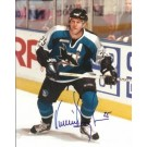 """Vincent Damphousse Autographed San Jose Sharks 8"""" x 10"""" Photograph (Unframed) by"""