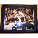 "1998 New York Yankees Team Autographed 30"" x 40"" Framed David Wells Perfect Game Photograph, 23 Autographs including Derek Jeter, etc."