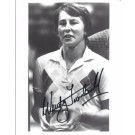 "Wendy Turnbull Autographed Tennis 8"" x 10"" Photograph (Unframed)"