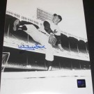 """Whitey Ford """"Throwing"""" Autographed New York Yankees 8"""" x 10"""" Action Photograph (Unframed)"""