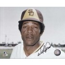 "Willie Davis Autographed San Diego Padres 8"" x 10"" Photograph (Unframed) by"
