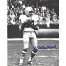 """Willie Wood Autographed Green Bay Packers 8"""" x 10"""" Photograph Hall of Famer (Unframed)"""