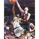 "Yao Ming Autographed Houston Rockets 8"" x 10"" Photograph (Unframed)"