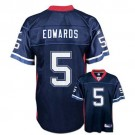Trent Edwards Buffalo Bills #5 Replica Reebok NFL Football Jersey (Navy)