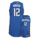 Dwight Howard Orlando Magic #12 Revolution 30 Authentic Adidas NBA Basketball Jersey (Road Blue)