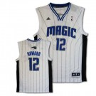 Dwight Howard Orlando Magic #12 Revolution 30 Replica Adidas NBA Basketball Jersey (White)