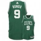 Rajon Rondo Boston Celtics #9 Revolution 30 Swingman Adidas NBA Basketball Jersey (Road Green)