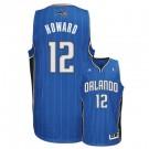 Dwight Howard Orlando Magic #12 Revolution 30 Swingman Adidas NBA Basketball Jersey (Road Blue)