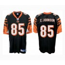 Chad Johnson Cincinnati Bengals #85 Authentic Reebok NFL Football Jersey (Black)
