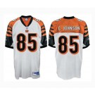 Chad Johnson Cincinnati Bengals #85 Authentic Reebok NFL Football Jersey (White)