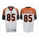 Chad Johnson Cincinnati Bengals #85 Authentic Reebok NFL Football Jersey (White)