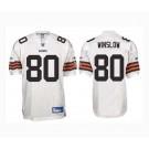 Kellen Winslow Cleveland Browns #80 Authentic Reebok NFL Football Jersey (White)