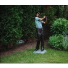 """Perfect Swing (Male Golfer)"" Bronze Garden Statue - 62"" High"