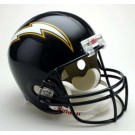 San Diego Chargers NFL Riddell 1988 - 2002 Throwback Full Size Deluxe Replica Football Helmet