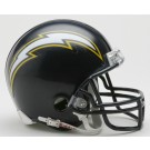 San Diego Chargers NFL Riddell 1988 - 2002 Throwback Replica Mini Football Helmet