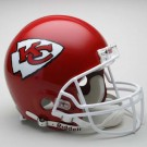Kansas City Chiefs NFL Riddell Authentic Pro Line Full Size Football Helmet