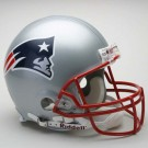 New England Patriots NFL Riddell Authentic Pro Line Full Size Football Helmet
