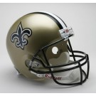 New Orleans Saints NFL Riddell Authentic Pro Line Full Size Football Helmet  by