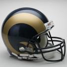 St. Louis Rams NFL Riddell Authentic Pro Line Full Size Football Helmet