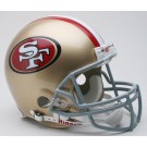 San Francisco 49ers 1996-2008 NFL Riddell Authentic Pro Line Throwback Full Size Football Helmet