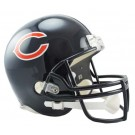 Chicago Bears NFL Riddell Full Size Deluxe Replica Football Helmet