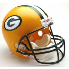 Green Bay Packers NFL Riddell Full Size Deluxe Replica Football Helmet