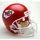 Kansas City Chiefs NFL Riddell Full Size Deluxe Replica Football Helmet