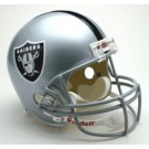 Oakland Raiders NFL Riddell Full Size Deluxe Replica Football Helmet