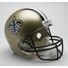 New Orleans Saints NFL Riddell Full Size Deluxe Replica Football Helmet