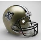 New Orleans Saints NFL Riddell Full Size Deluxe Replica Football Helmet