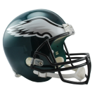 Philadelphia Eagles NFL Riddell Full Size Deluxe Replica Football Helmet